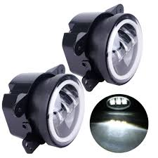 4 Inch Round Led Fog Light Headlight 30W Projector Lens With Halo ... Drive Bright Fusion Mondeo Drl Kit Fog Light Package Philippines 12v 55w Roof Top Bar Lamp Amber For Truck Raptor Lights 2017 Ford Gen 2 Triple And Bezel Kc Hilites Gravity G4 Led Fog Light Pair Pack System For Toyota Rigid Industries 40337 Dseries Ebay My 01 Silverado With 8k Hids Headlights 6k Hid Fog Lights Replacement Mazda B3000 Youtube Nilight X 18w 1260 Lm Cree Spot Driving Work Nightsun Jeep Jk 42015 1500 2013 Nissan Altima Sedan Precut Yellow Overlays Tint