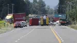 A Crash Involving Two Trucks Left Their Cargo Spread Across Rangitikei Line