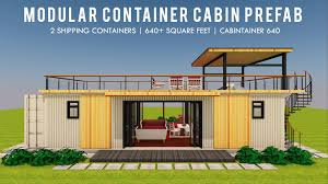 100 Modular Shipping Container Homes CABINTAINER 640 ID S1220640 2 Bed 2 Bath 640SFt