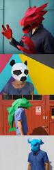 Halloween Half Mask Ideas by Best 25 Halloween Masks Ideas On Pinterest Masks For Halloween