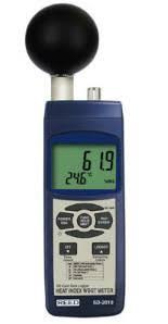 bulb globe temperature and heat stress monitors