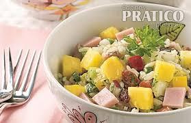 cuisine salade de riz salade de riz jambon et ananas recettes cuisine et nutrition