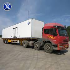 100 Used Box Truck Industry Pass CCC Box Truck Used Semirefrigerated Trailer View