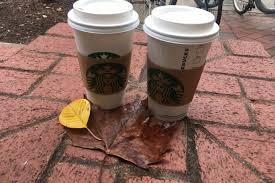 Dunkin Donuts Pumpkin Spice Latte Caffeine by Dunkin Donuts Vs Starbucks Fall Drink Menu Her Campus