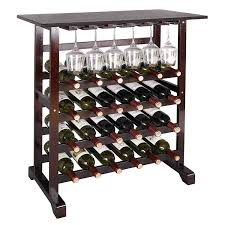 100 Glass Racks For Trucks Amazoncom Smartxchoices 24 Bottle Wine Rack Table With