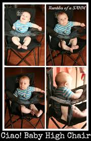 Ciao Portable High Chair Walmart by Ciao Baby Portable High Chair Review Ciaobabychair