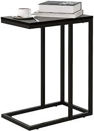 wlive beistelltisch sofatisch betttisch laptoptisch kaffeetisch gestell aus metall tischpltte aus holz tisch für wohnzimmer schlafzimmer 48