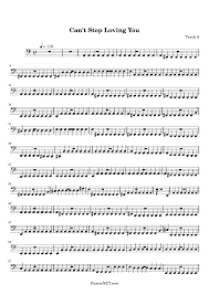 Cant Stop Loving You Sheet Music