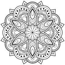 Cool Coloring Mandala Pictures At 17 Best Ideas About Pages On Pinterest