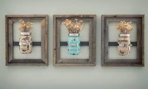 DIY Rustic Wall Frames