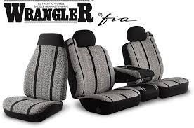 Wrangler™ Series Original Custom Fit Truck Seat Covers - Fia Inc ...