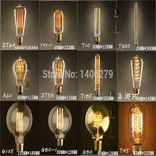 retro vintage 40w edison light bulb chandelier e27 220v l
