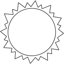 Drawing Coloring Pages Of Sun
