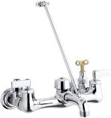 Slop Sink Faucet Leaking by Kohler K 8908 Cp Kinlock Service Sink Faucet Polished Chrome