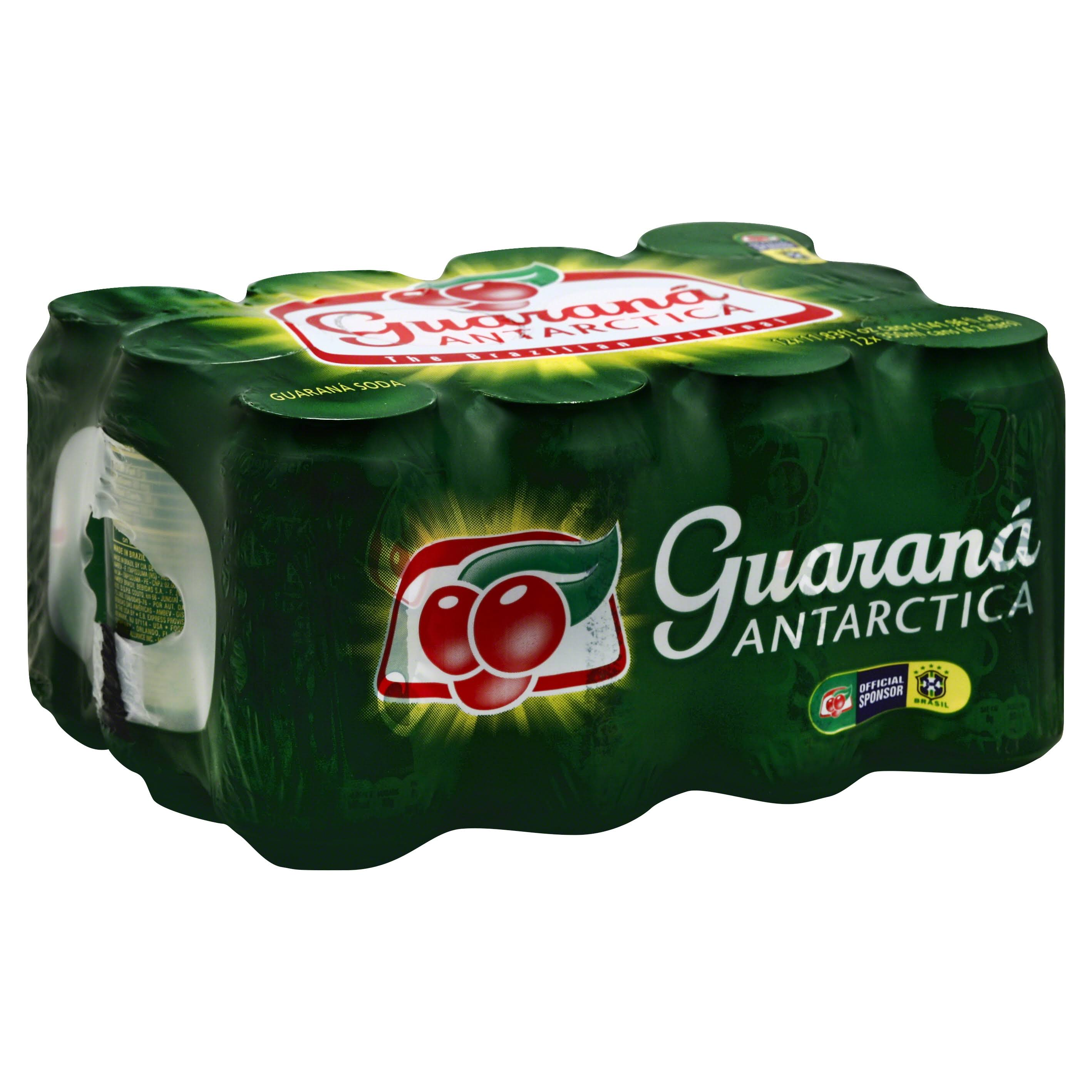 Guarana Antarctica Soda - Original, 12 Pack, 350ml