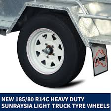100 Heavy Duty Truck Service Ramps Xtreme Trailers 8x5 Hot Dipped Galvanised Box Trailer