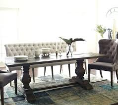 Upholstered Bench With Back Dining Room Inside Wish Benches Pertaining To