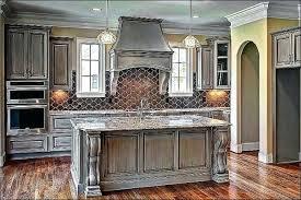 Distressed Grey Cabinets Elegant Gray Kitchen Cream Bathroom Vanity