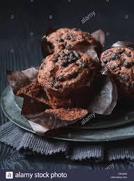 chocolate chip muffins gebäck zum frühstück