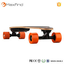 Maxfind Electric Skateboard Longboard Lightest Remote Control 1000W ...