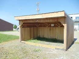 Loafing Shed Kits Texas by Goat Sheds Mini Barns And Shed Construction Millersburg Ohio