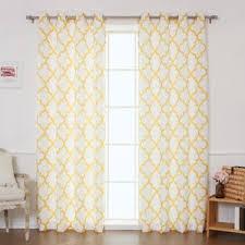 Sheer Curtains At Walmart by Yellow U0026 Gold Curtains U0026 Drapes You U0027ll Love Wayfair