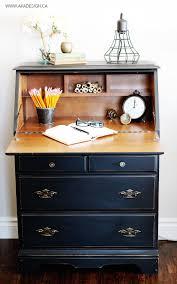 Drop Front Writing Desk by Best 20 Secretary Desks Ideas On Pinterest Painted Secretary