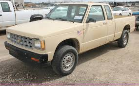 100 1986 Chevy Trucks For Sale Chevrolet S10 Extended Cab Pickup Truck Item F2793