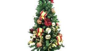 4ft Christmas Tree Amazing Idea 4 Ft With Lights Led White Blue Pre Lit