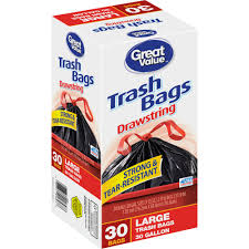Christmas Tree Trash Bags Walmart by Kirkland Signature Drawstring Kitchen Trash Bags 13 Gallon 200
