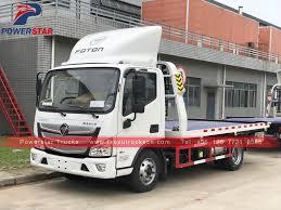 Peru FOTON AUMARK 5tons Flat Bed Wrecker Tow Truck