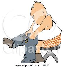 Put On Clothes Clipart 5