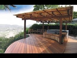 Deck Designing by Backyard Deck Designs Ideas Youtube
