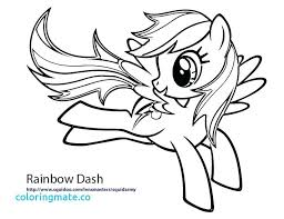 My Little Pony Coloring Pages Impressive Decoration Rainbow Dash Princess Awesome