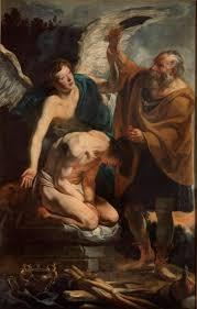 Download Hi Res Image TITLE The Sacrifice Of Isaac AUTHOR Jacob Jordaens DATE 1625