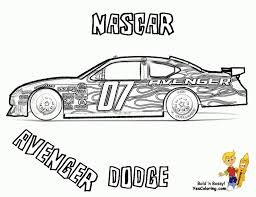 Free Printable Nascar Coloring Pages For Children 93951