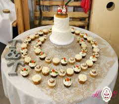 Dutch Wedding Cake And Cupcakes