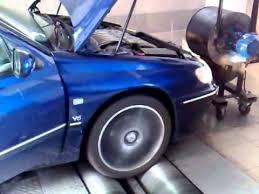 406 V6 dyno test