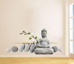 buddha statue sitting buddha figure decor wall by