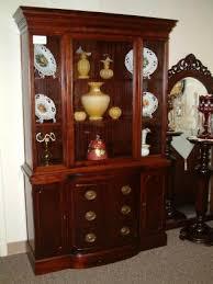 mahogany duncan phyfe style china cabinet furniture pinterest