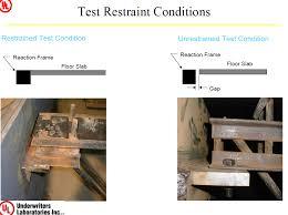underwriters laboratories fire endurance testing of world trade