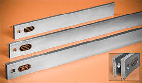 veritas steel straightedges lee valley tools