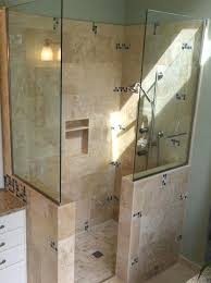 walk in shower floor designs doorless walk in shower floor plans