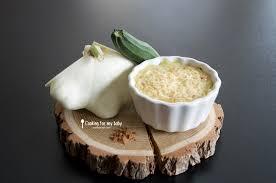 cuisiner le patisson blanc recette de purée de patisson courgette et pomme de terre gratinée à
