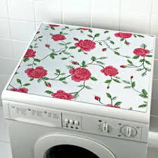 details zu waschmaschinen auflage badezimmer bezug für frontlader toplader trockner