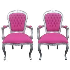 Pair French Armchairs Pink & Silver Chair-Louis XV-Provincial ... Having A Moment For Pink Blanc Affair Sweet Pink Armchairs Architecture Interior Design Pair Of Lvet By Guy Besnard 1960s Market Kubrick Fauteuil Met Vleugelde Rugleuning In Snoeproze Hot Armchair Modern Living Room Ideas Nytexas Armchairs For Cie 1962 Set 2 Lara Armchair Fern Grey Lotus Velvet Decorating And Interiors Large Patchwork Sage Floral Home Decor Midcentury Dusty 1950s Sale