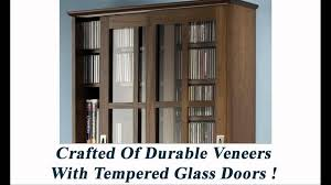 Leslie Dame Sliding Door Media Cabinet by Dvd Storage Cabinet With Doors Youtube