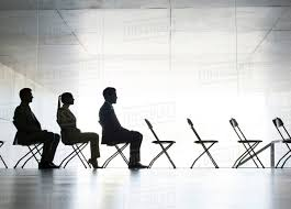 Business People Sitting In Office Chairs In A Row - Stock Photo ... Chairs Office Chair Mat Fniture For Heavy Person Computer Desk Best For Back Pain 2019 Start Standing Tall People Man Race Female And Male Business Ride In The China Senior Executive Lumbar Support Director How To Get 2 Michelle Dockery Star Products Burgundy Leather 300ec4 The Joyful Happy People Sitting Office Chairs Stock Photo When Most Look They Tend Forget Or Pay Allegheny County Pennsylvania With Royalty Free Cliparts Vectors Ergonomic Short Duty