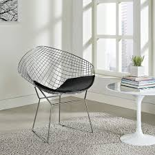 Modway CAD Contemporary Modern Wire Lounge Chair In Black Lars Leather Lounge Chair In 2019 Living Room Fniture 53 Off West Elm Huron Grey And White Chairs Field Bob Contemporary Comfortable Coalesse Charles Ray Eames For Herman Miller Alinum The 14 Best Office Of Gear Patrol Fniture Incredible Wrought Iron Chaise With Simple Safari Chips Telegraph Contract Satus Inc Oyster Adult 10 New Re Idesk Cur120 Curva Series High Back Mesh Dumouchelle Art Gallery 2018 June 1517th Auction By
