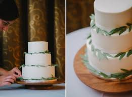 Vancouver And Destination Wedding Photographer 0142 Olive Branch Cake Green White Rustic